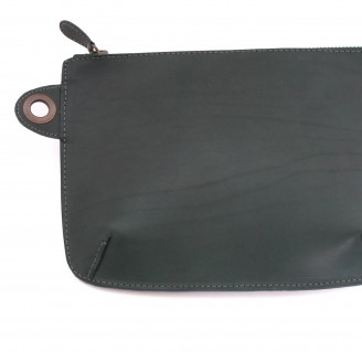Buckitt Pouch- Green- close 2