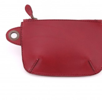 Buckitt Purse- Wine- close
